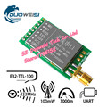 SX1278 / SX1276 wireless module 433MHZ wireless serial UART interface LORA spreading 3000 m E32-TTL-100