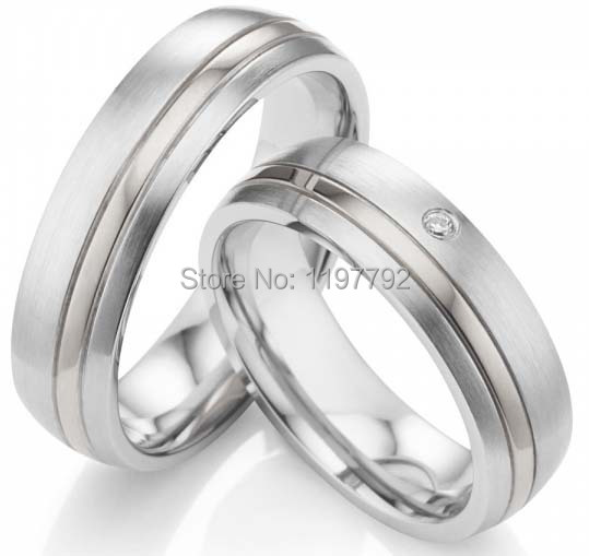 tailor made classic silver color pure titanium stainless steel couple rings sets simple retro fashionable personality stainless steel couple rings silver black us size 9 7