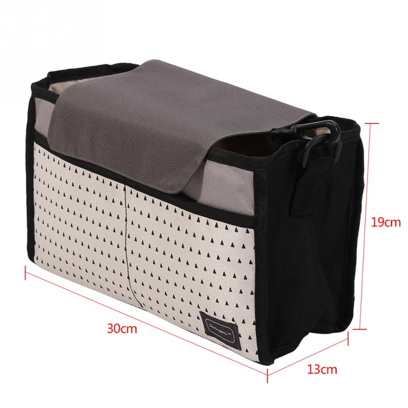 Baby Diaper Bag Mummy Storage Bag for Baby Large Capacity Stuff Collection Multi-function Nappy Bags Baby Stroller Accessories
