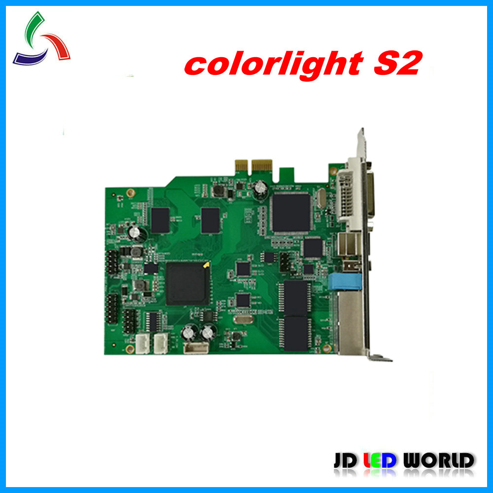 colorlight S2 video LED screen LED vall sending card c light S2 repace old version T7