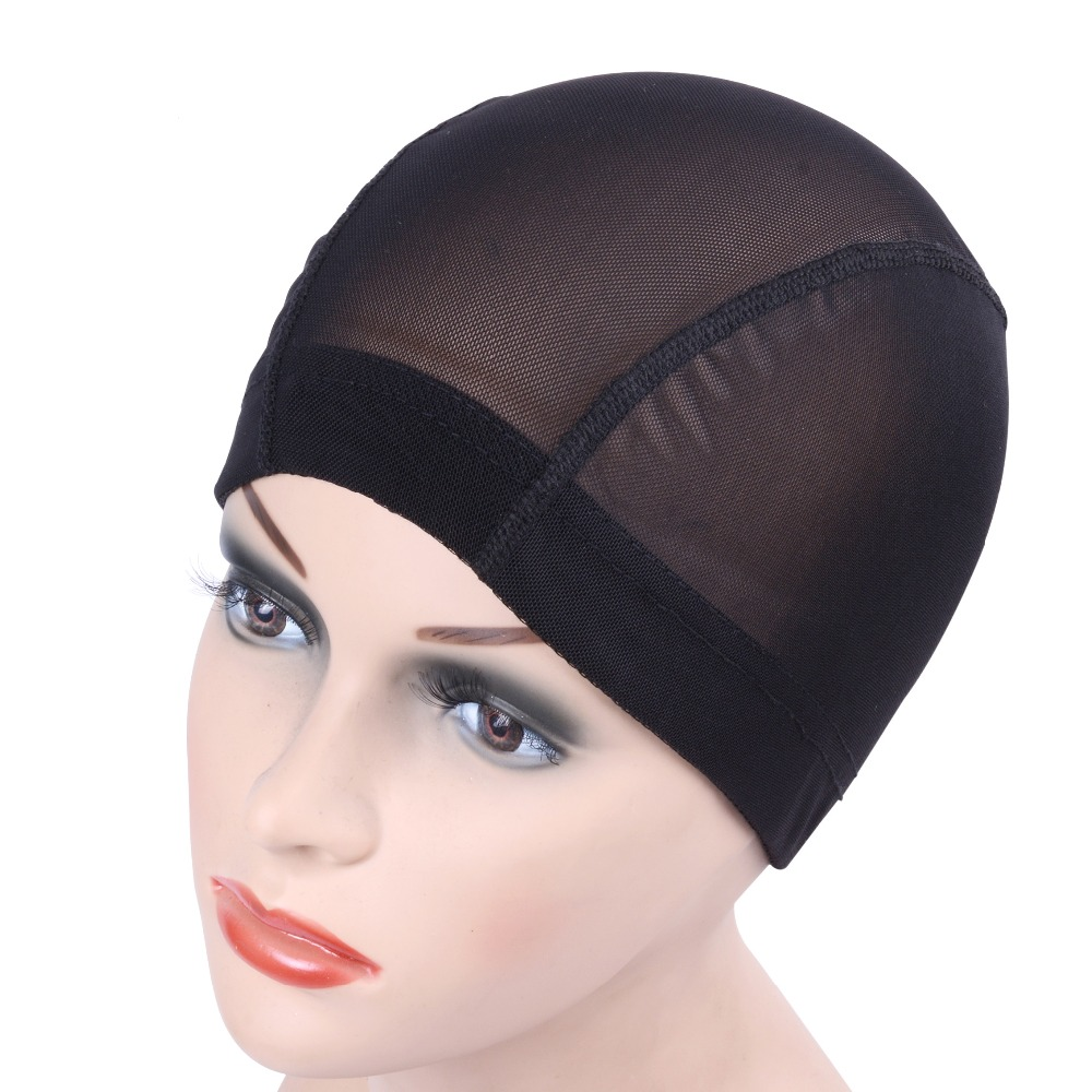 1pcs Glueless Hair Net Wig Cap For Making Wigs Spandex Net Elastic