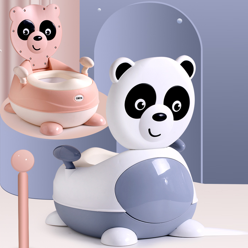 Baby Potty Toilet Bowl Training Toilet Seat Children's Pot Kids Bedpan Portable Urinal Comfortable Backrest Cartoon Cute Pot