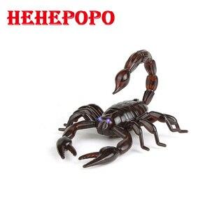 Image 2 - Hehepopo Infrared Remote Control Snake/Scorpion/Turtle Mock Fake RC Toy Animal Trick Novelty Jokes Prank For Boy Adult