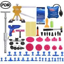 PDR Инструменты Paintless Дент Удаление автомобилей Ремкомплект Авто Ремонт набор инструментов слайд Молоток Дент Lifter всасывания Чашки для вмятины