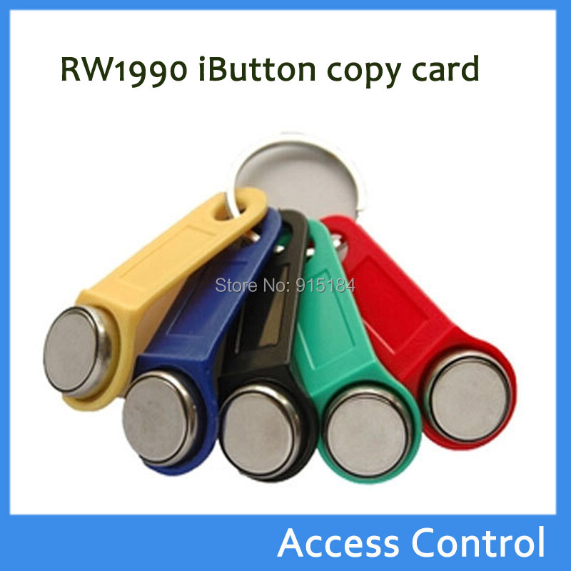 Rw1990 Ibutton,copy Card Sauna Dallas Key Chains Card Industrious 100pcs Rewritable Rfid Token Touch Memory Key