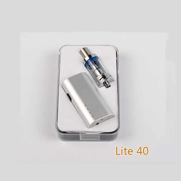 Original Jomotech Electronic cigarette 40W vape Rechargeable 2200mAh 18650 battery 3ml Vaporizer E cigarette kit