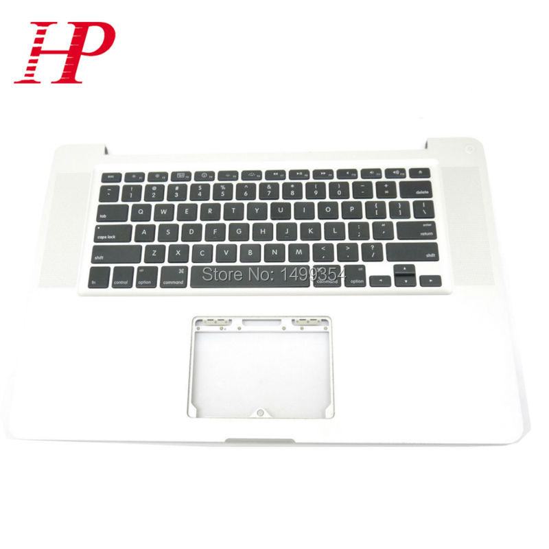 Genuine A1286 Topcase Palm Rest With Keyboard For Apple Macbook Pro 15'' A1286 Top case Palmrest With US Keyboard 2008 Year original new topcase 11 6 for macbook air a1370 a1465 palmrest top case with us keyboard backlight no touchpad 2013 2015