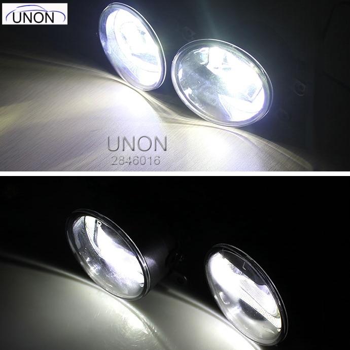 Car Flashing Functions LED For Mitsubishi Triton L200 2018 Fog Lamp