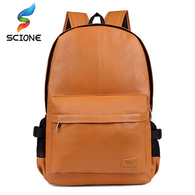 Outdoor Top PU Men Sports Gym Bags Travel Backpack School Bags For Teenager Soccer Ball Pack Laptop Bag Waterproof Training Bag