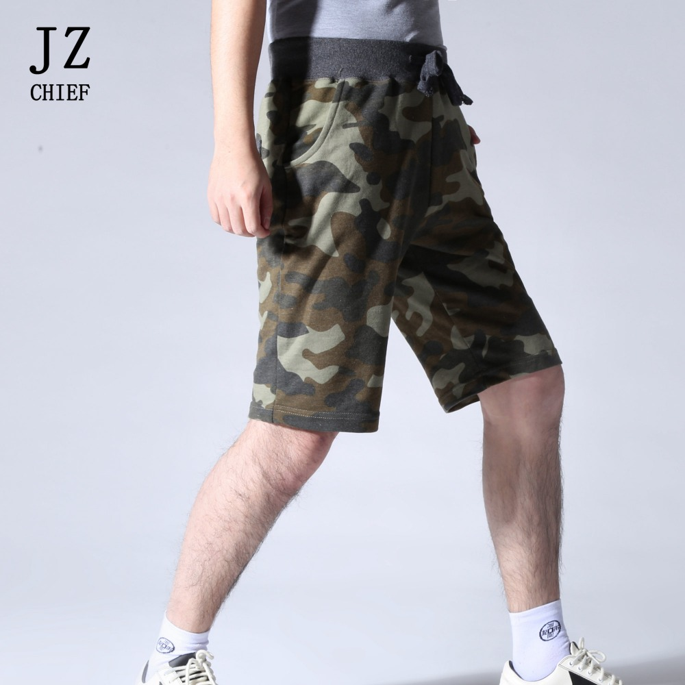 JZ CHIEF Casual Cotton Men Shorts Plus Size Camo Camouflage Fashion Brand Boardshorts Cargo Jogger Short Pants Breathable Loose
