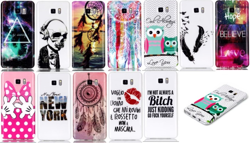 Cute Cartoon Soft Gel Tpu Case for Samsung Galaxy Note 5 Lovely Owl Dream Catcher Back Cover Phone Cases on Aliexpress.com | Alibaba