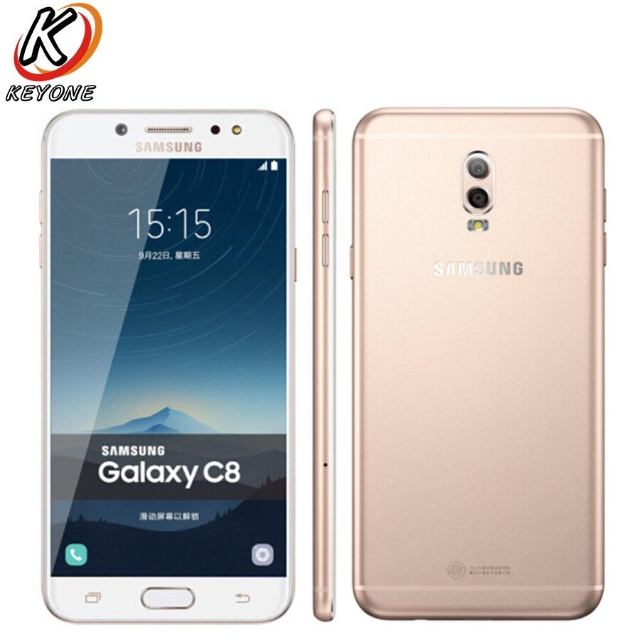 Nouveau Samsung GALAXY C8 C7100 LTE Mobile Téléphone 5.5 3 gb RAM 32 gb ROM Double Caméra Arrière 3000 mah Android Double SIM Téléphone Intelligent - 3