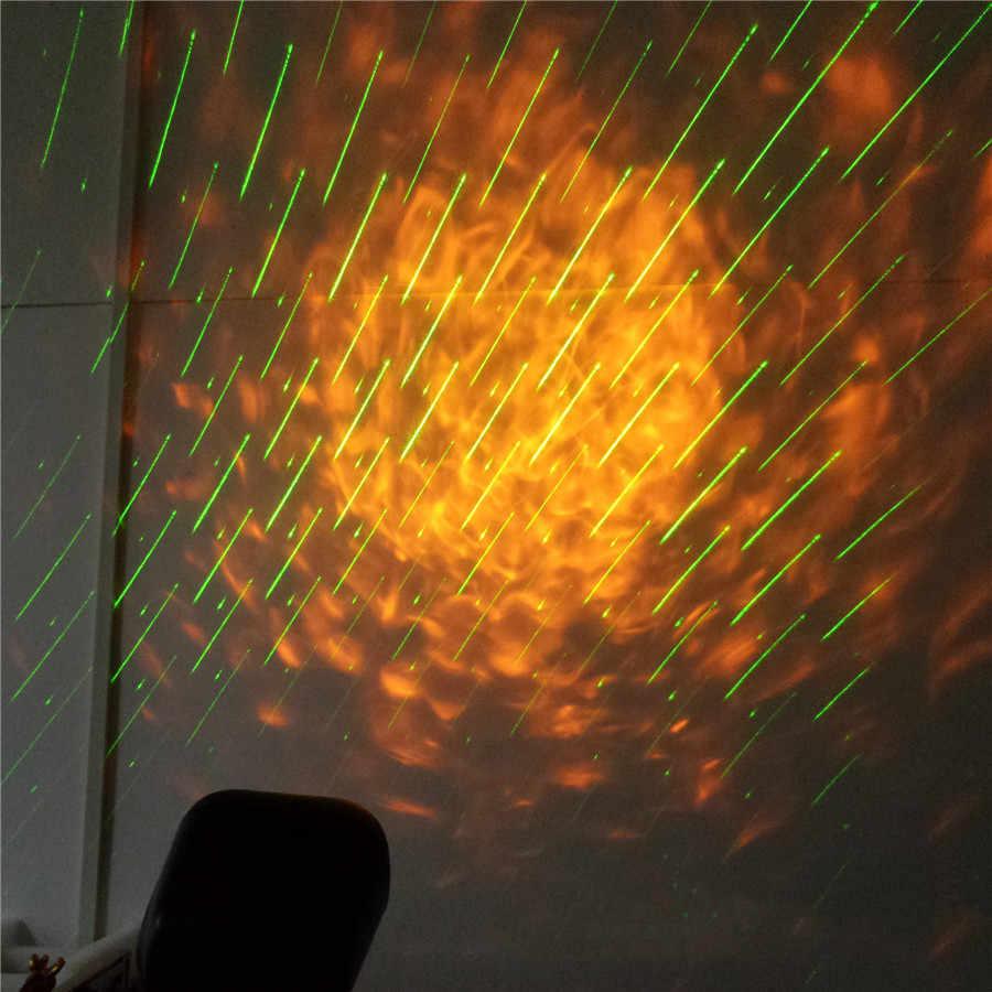 BEIAIDI Açık Su Dalga Dalgalanma Lazer projektör ışık Meteor Yağmuru Yağmur Aydınlatma Su Geçirmez Tatil Noel Partisi lazer lamba
