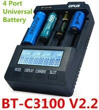 Opus BT C3100 V2.2 Smart Universal LCD LI-ion NiCd NiMh AA AAA 10440 14500 16340 17335 17500 18490 17670 18650 Battery Charger