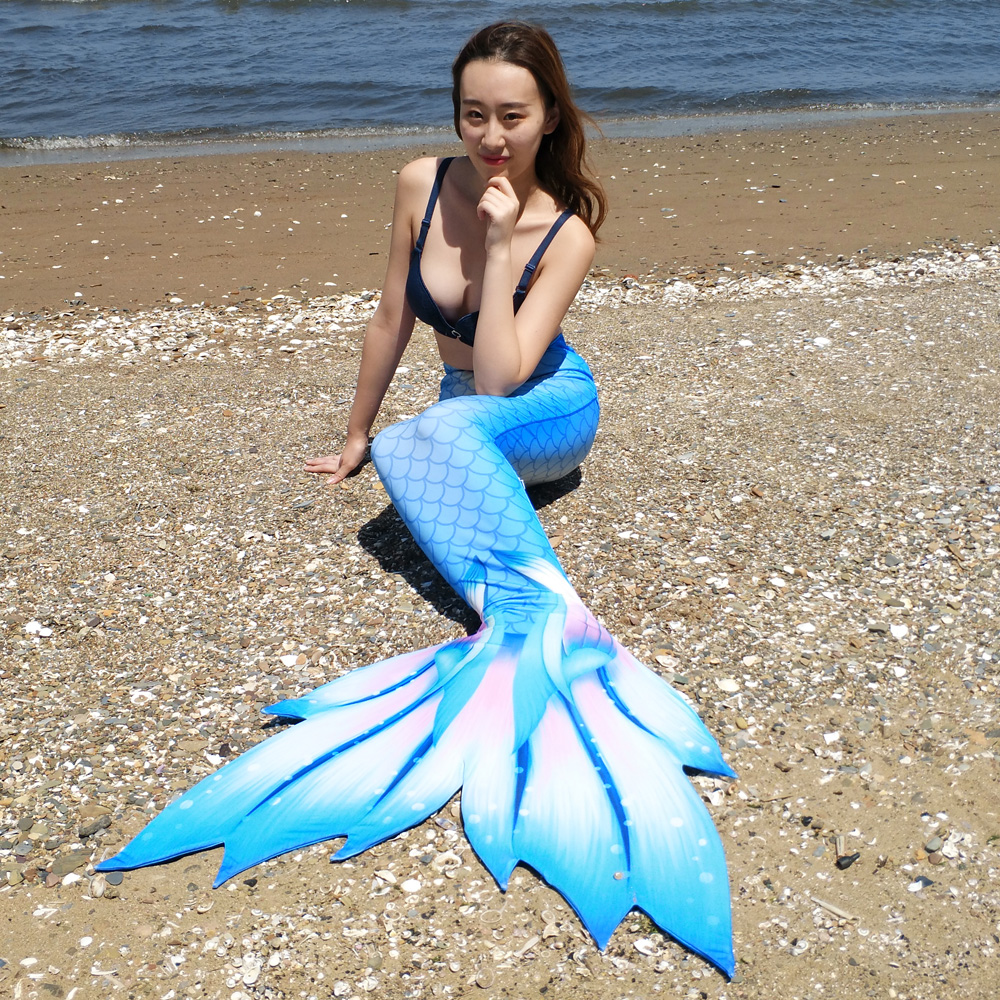 Mermaid tails for swimming Adult,kids,girls Mermaid Tail cosplay costume Zeemeerminstaart Tail Swimmable Swimwear monofin option