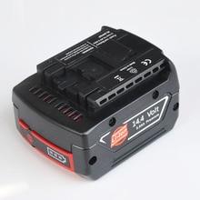 14,4 В в литий-ионная аккумуляторная батарея 5000 мАч для BOSCH аккумуляторная электрическая дрель шуруповерт BAT607, BAT607G, BAT614, BAT614G
