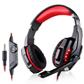 EASYIDEA Gaming Headset Wired Earphone Gamer Headphone With Microphone LED Noise Isolation Headphones for Laptop Computer