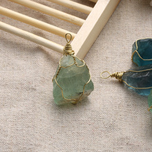 Fluorite Healing Stone Pendant