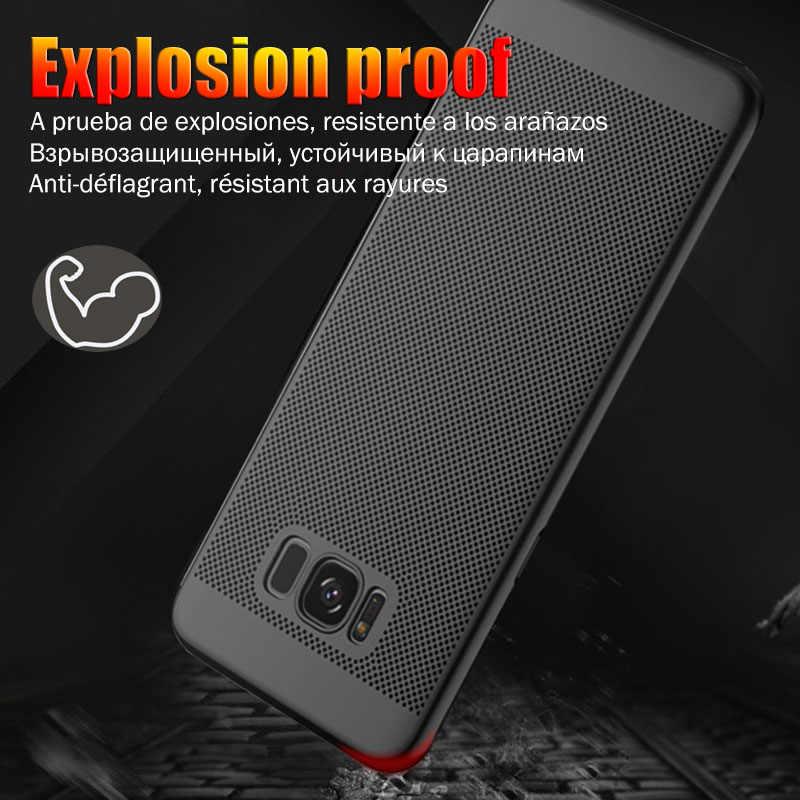 Móvil de lujo para Samsung Galaxy S8 más S9 Nota 9 Nota 8 S7 S9 más A7 A5 2017 S6 s7 borde j7 j5 2017 S6 funda protectora