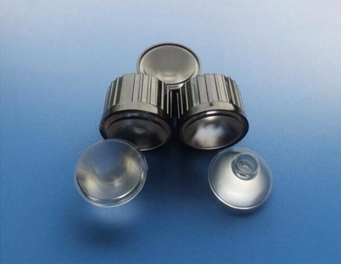 IUHJ-20 высокого качества светодиодный комплекты объективов, 90 градусов, Размер линзы: 20X11 мм, с диаметром держателя: 22,3 мм, для шлифования поверхности, PMMA