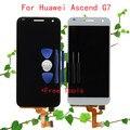 Pantalla lcd + touch asamblea digitalizador de pantalla para huawei ascend g7 g7-l01 g7-l03 lcd del reemplazo del envío libre