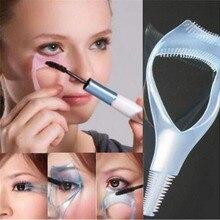2 pcs Useful Women Makeup Tool Kit Hot Makeup 3 in 1 Mascara