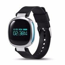 Bluetooth SmartBand E08 с сердечного ритма Мониторы браслет IP67 Водонепроницаемый Smart запястье Фитнес трекер для IOS Android