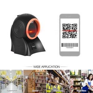 Image 5 - Aibecy настольный сканер штрих кода 1D 2D QR с usb кабелем всенаправленный считыватель штрих кодов регулируемое сканирование