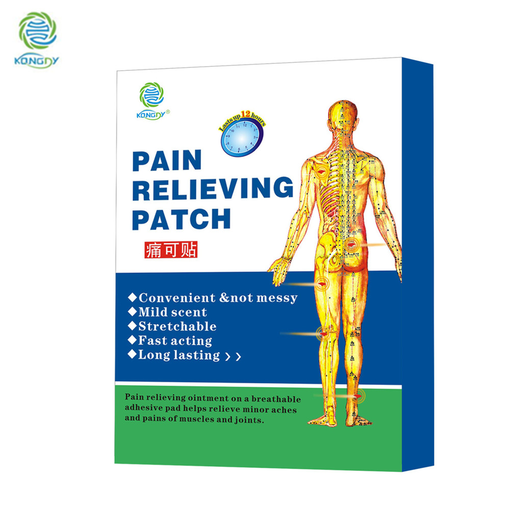 KONGDY Hot Selling 6 Pieces in One Box Porous Body Pain Care Patch Hot Capsicum Plaster Pain Relieving Patch Pain Killer блуза marina yachting b1 028 58626 00 65023 092