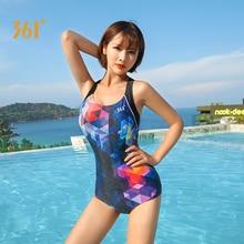 361 Women Triangle Swimwear One Piece Swimsuit Sexy Push Up Female Pad Professional Backless Bandage Bathing
