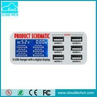 Go2link 5V 2 1A 3 Ports USB Charger For IPad IPhone Samsung Galaxy EU Plug Wall