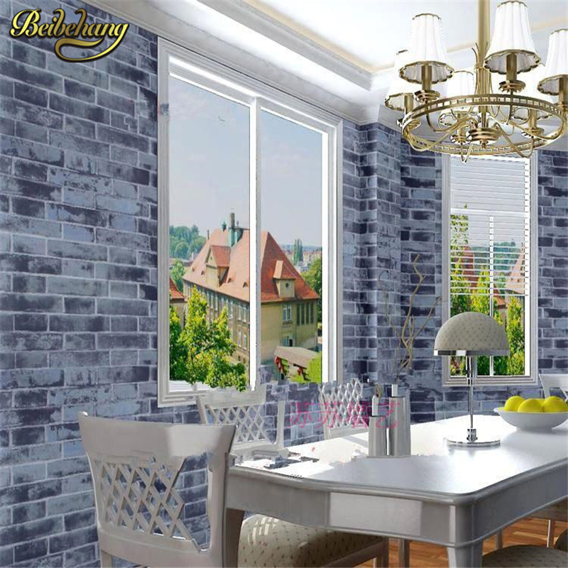 beibehang living room brick wallpaper for walls 3 d wall paper Retro bricks brick red brick wall paper roll papel de parede beibehang stone brick wall 3d wallpaper roll modern retro pvc vinyl wall bedroom living room background wallpaper for walls 3 d