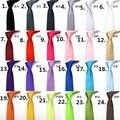 24 500 peça moda magro Narrow seta gravata Skinny cor sólida cetim 5 cm preto laço para homens frete grátis
