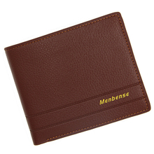 New PU leather Vintage men wallets luxury brand short clutch wallets Brown money clip men's wallet male purse quality guarantee new pu leather wallet men wallets luxury brand clutch wallet brown money clip men s leather wallet male purse cuzdan
