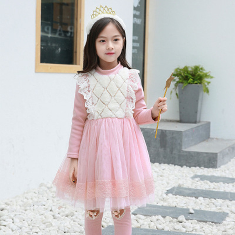 Kids Party Dress Baby Girl Clothing Tutu Christmas Dress Kids Dresses For Girls Winter Velvet Thick Costume Children Clothes new baby girls clothes fashion style dress for girl polka dot dresses white bowknot shirts children clothing set girls costume