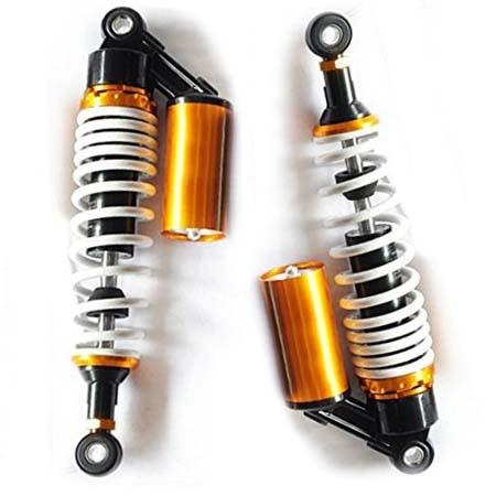 375mm 390mm Universal Shock Absorbers  for Honda/Yamaha/Suzuki/Kawasaki/Dirt bikes/ Gokart/ATV/Motorcycles and Quad. 13 340mm universal shock absorbers for honda yamaha suzuki kawasaki dirt bikes gokart atv motorcycles and quad