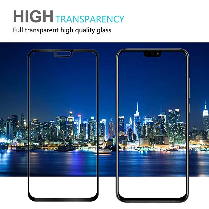 9D Glass for huawei honor 8x 8a 10 20 protective glas on huawei p30 p20 pro mate 20 lite screen protector film p 30 8 x case in Phone Screen Protectors from Cellphones Telecommunications