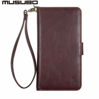Musubo Fashion Phone Case For Samsung S8 Plus Leather Cases Luxury Flip Cover Wallet Detachable Case Galaxy S8Plus Card Slot