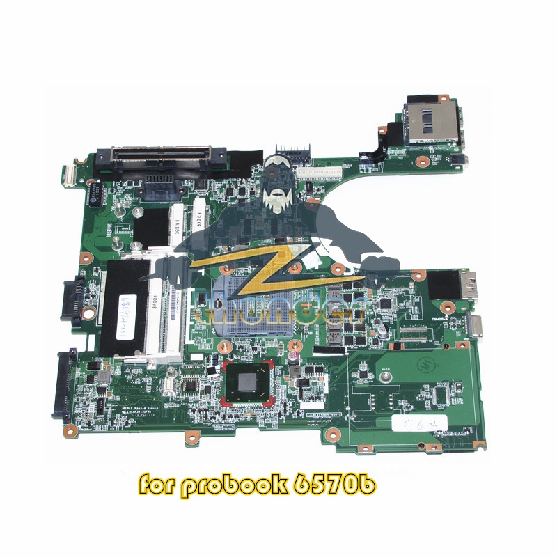686974-601 686974-001 for HP Probook 6570B Laptop motherboard SLJ8A QM77 DDR3 цена