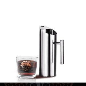 Image 4 - Arrivels החדש גדול קיבולת 2L מטבח מים צנצנות שלי מים בקבוק משרד משפחה מיץ פירות תה חלב קפה סיר קפה בר כלים