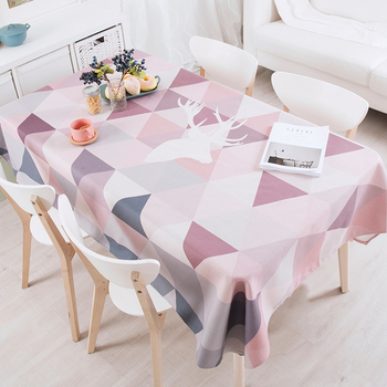Nordic simple tablecloth art tablecloth rectangular coffee table cloth living room cover towel cloth round tablecloth coffee table
