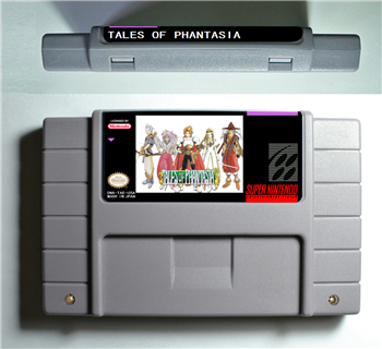 TALES OF PHANTASIA - RPG Game Battery Save US Version цена
