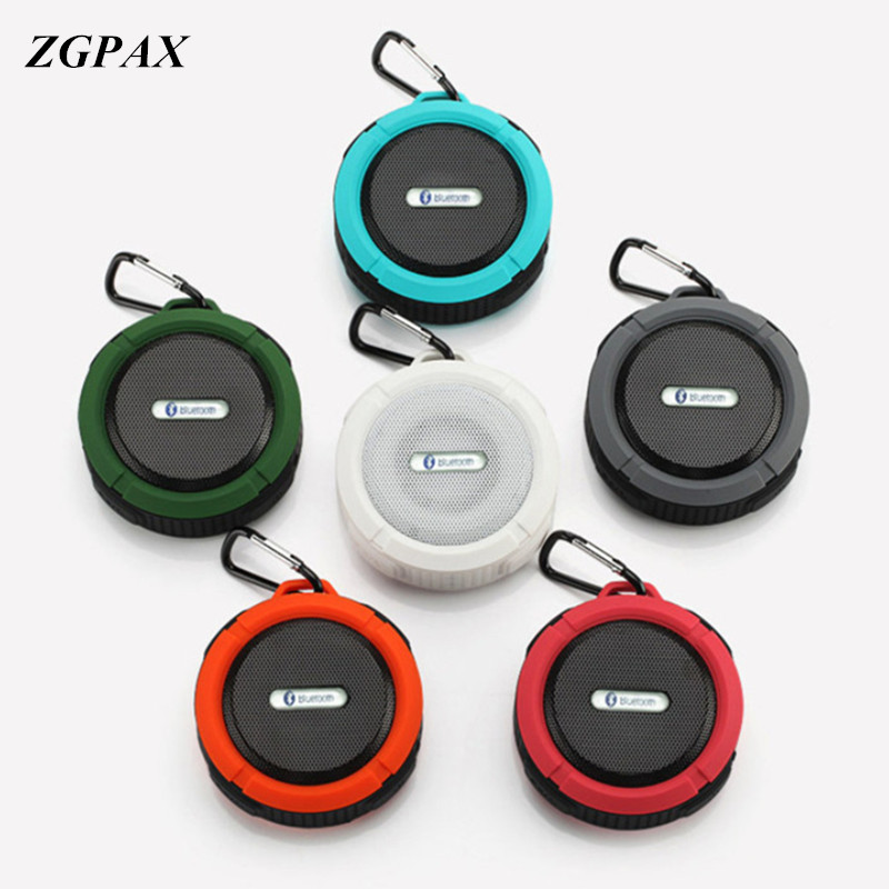 Speakers Dashing Zgpax Portable Waterproof Outdoor Wireless Car Bluetooth Speaker C6 Bluetooth For Phone Xiao Mi Mp3 Mp4 Hua Wei Sam Sung L G