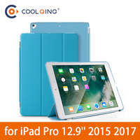 protective pu leather Smart Tablets Case For iPad Pro 12.9