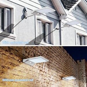Image 5 - LED Năng Lượng Mặt Trời Ánh Sáng 36 đèn led PIR Cảm Biến Chuyển Động ánh sáng ban đêm Ngoài Trời Không Thấm Nước ánh sáng Đường Phố Vườn An Ninh Tường Đèn với gắn rod