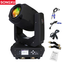 200W LED Lyre Moving Head Light Beam Spot Wash LED Light Party Light DJ stage light night club/SX-MH200A(China)