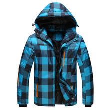 2016 New Ski Jacket Men Waterproof Winter Snow Jacket Thermal Coat For Outdoor Mountain Skiing Snowboard Jacket Brand