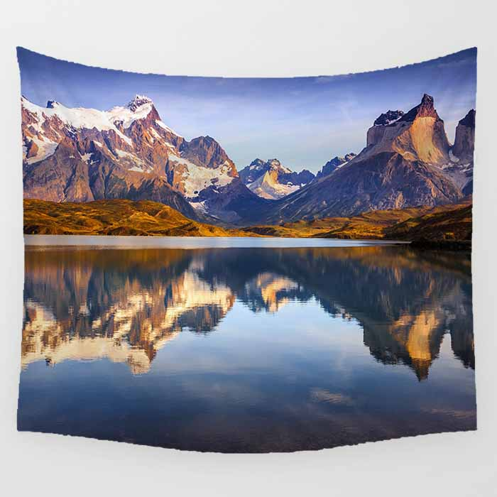 Hot sale Pretty scenery pattern pretty tapestries Wall Hanging Printed home decoration tapestry sea beach