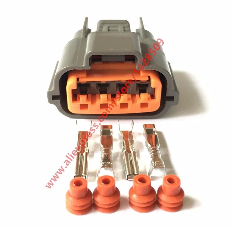 10 Sets 4 Pin Sumitomo RB SR Cam Angle Sensor CAS Auto Connector 6098 0144 For