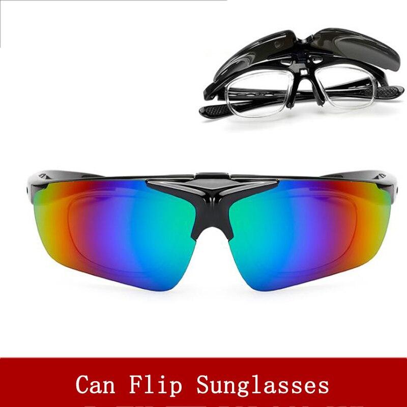 Óculos de ciclismo Ao Ar Livre Esporte Virar óculos de sol UV 400 Homens e Mulheres de Bicicleta Mountain bike Óculos Óculos De Pesca